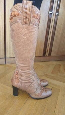 Дамски ботуши естествена кожа,размер 39