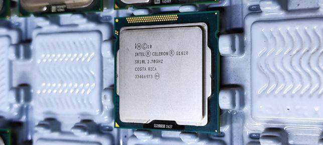 Intel Celeron G1620, 2.70GHz, 2M/ ядер: 2/2T, 55W, LGA1155, oem,