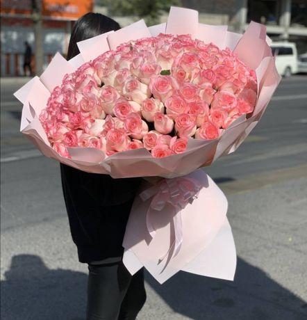 Цветы Алматы Доставка! Букеты, розы, пионы!