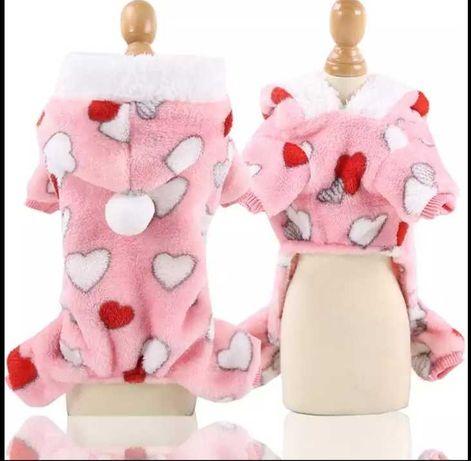 Мека пижама за куче М