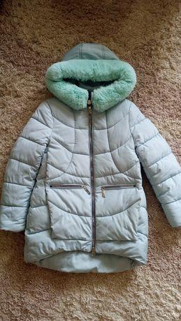 Зимняя куртка на рост 134см.