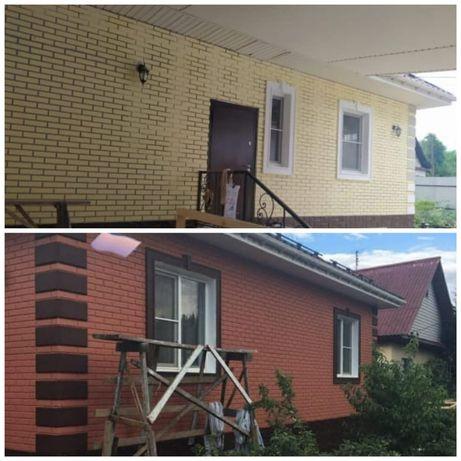 Покраска. Красим заборы, фасады, крыши, бетон, дома