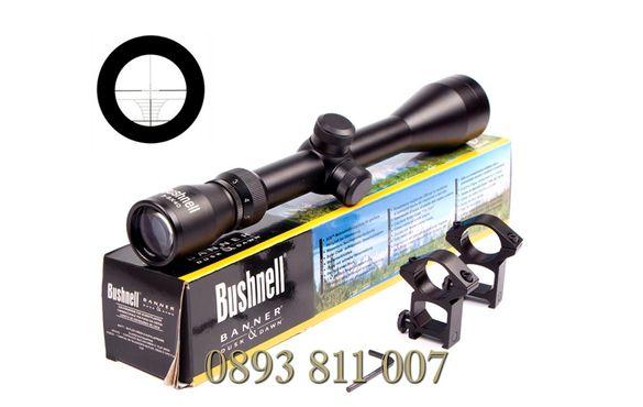 ОПТИКА за пушка Оптически прицел Bushnell Rifle Scope 3-9x40,мерник