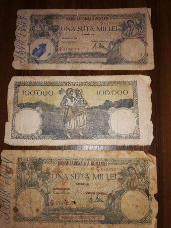 Bancnota de UNA SUTA MIE LEI - 1946