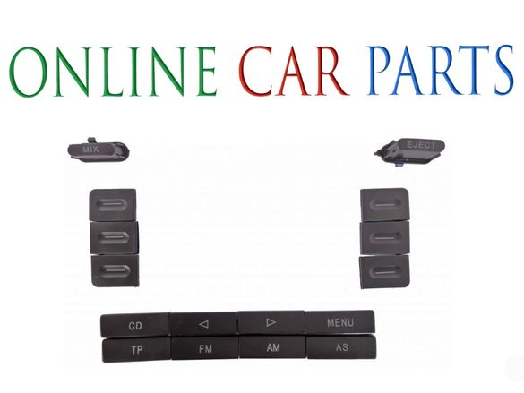 VW Caddy 2K,Golf 5,Jetta 5,Passat B6,B7,Touran-Капачета за радио панел