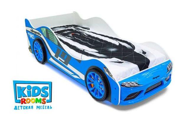 Заводская детская кровать машина