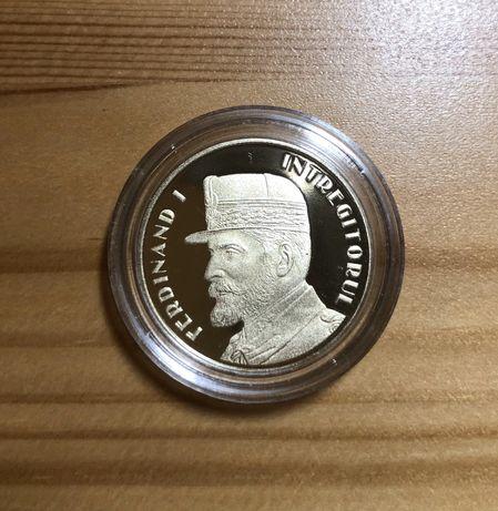 Moneda 50 bani 2019 PROOF - Regele Ferdinand I