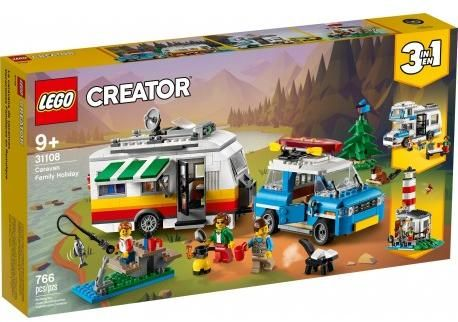 Ново LEGO® Creator 31108 - Семейна ваканция с каравана