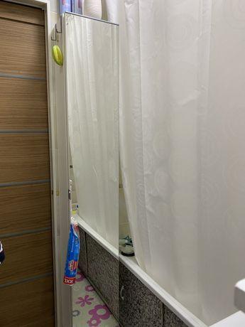 Шкаф-пенал зеркальный в ванную комнату