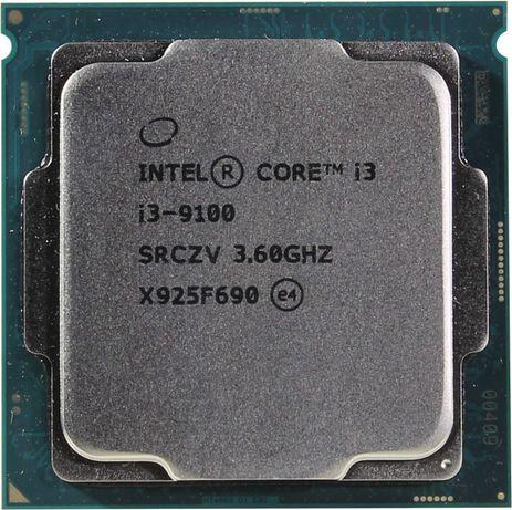 Процессор Intel Core i3 9100, LGA1151. Можно проверить.