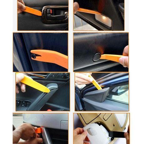 Kit profesional pentru demontare panouri auto, plafoniere, trimuri etc