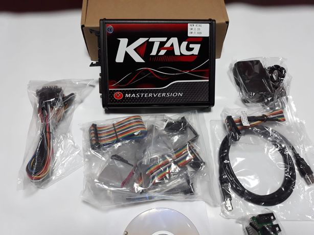 Interfata K TAG SW2.25 HW 7.020 Ecu chip tuning Placa rosie