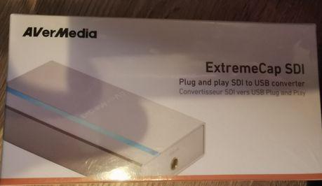 Vand placa de captura Avermedia ExtremeCap SDI, P&P SDI to USB, NOUA