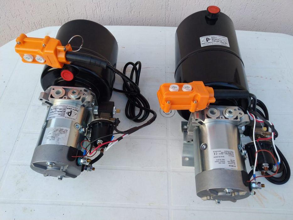 Pompa basculare electrica 12 v remorca Targoviste - imagine 1