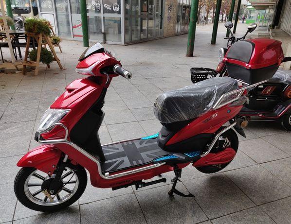 Bicicleta Electrica Scuter Electric cu 2 locuri, 250W, 48V, 20 Amperi