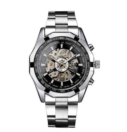Часы Оригинальные Механические Мужские Виннер (Winner Luxury)