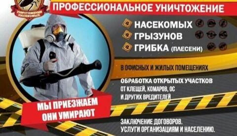 Уничтожение Клопов в Уральске! Мы Работаем на Результат! Нам Доверяют!