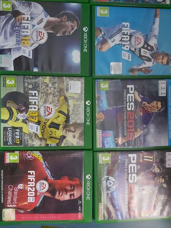 Jocuri Xbox One Fifa 14-20 si Pes 15-19