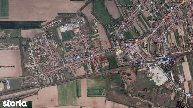 Teren intravilan 2.961 mp Osorhei-Primarie