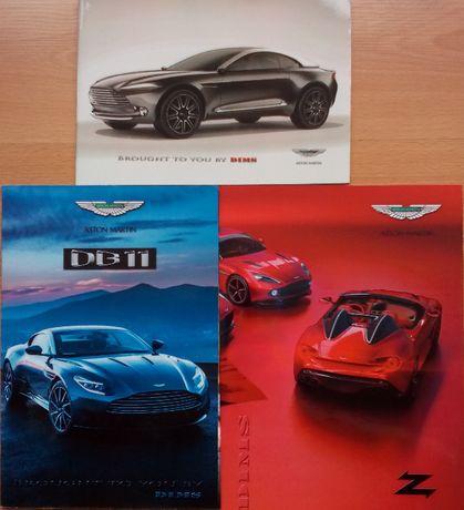 Колекционерски книги брошури каталози автомобили Aston Martin DB