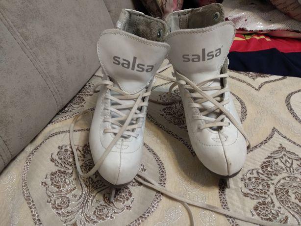 Продам коньки фигурные Salsa Elegant.