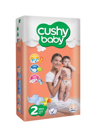 80buc, Scutece copii, Cushy baby, Marime 2, Mini, 3-6kg, varsta 3-6lun