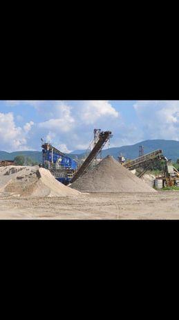 Vând nisip, balast, sort , piatră concasată , pământ vegetal
