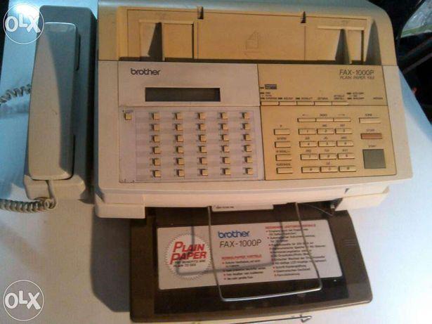 Telefon cu fax, robot si centrala