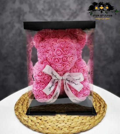 Мечета от рози в луксозни кутии, Love bear