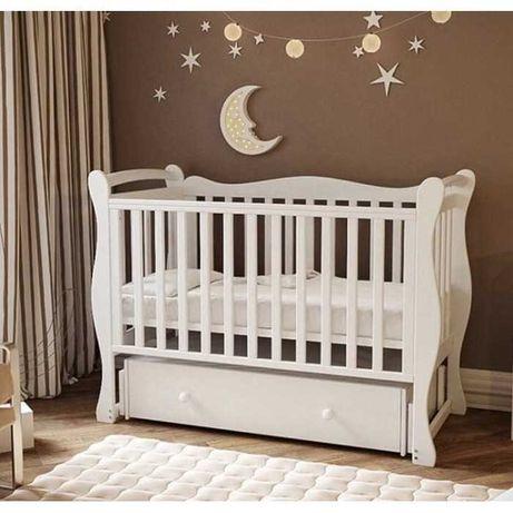Детская кроватка Антел Julia 1 маятник кроватки Алматы манеж +доставка
