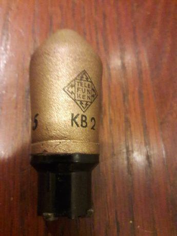 Lampa/tub duodiode KB2 stare SH test ok pt radio vechi colectie