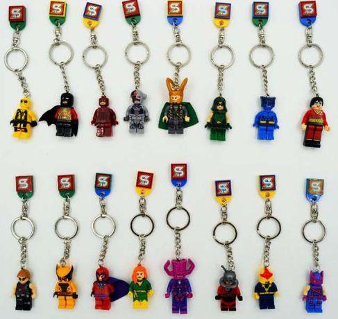 Ключодържатели фигурки на екшън герои тип Лего Lego за колекционери