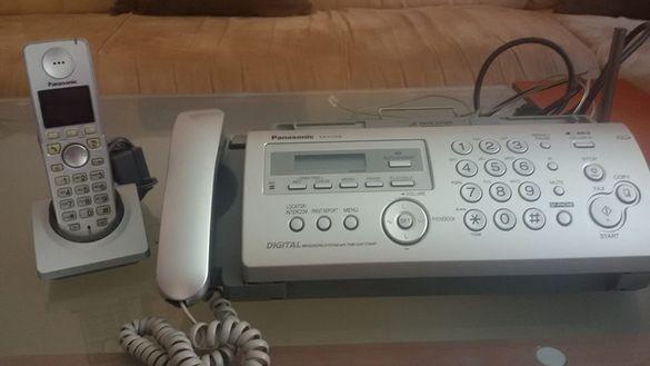 Телефон/факс Panasonic KX-FC258FX