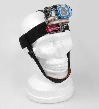 Стойка - еластична лента за глава за екшън камери | hdcam.bg