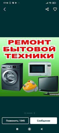 Ремонт стиральных, посудомоечных машин, телевизоров, пылесосов