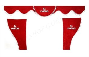 Комплект декоративни пердета с топчета ИВЕКО/IVECO
