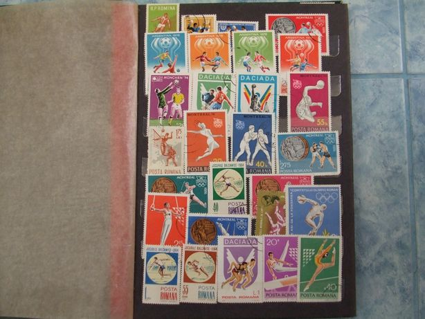 Timbre romanesti din anii 60-70-80