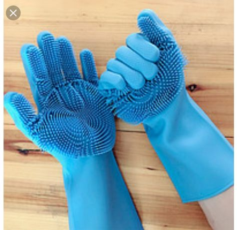 Перчатки щетка