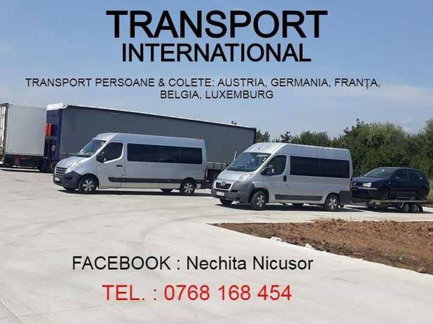 Transport Austria Germania Franța Belgia Luxemburg