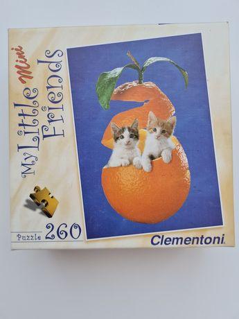 Пъзел с котки Clementoni