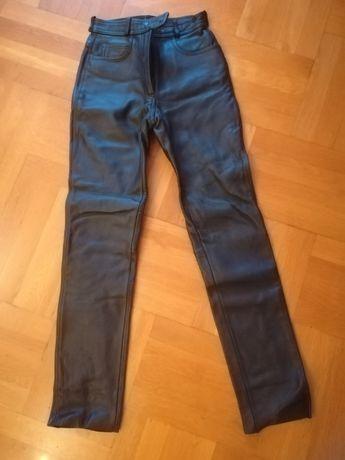 Кожен моторджийски панталон