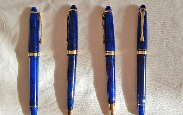 Set 4 instrumente de scris, albastre