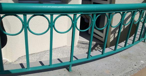 Парапет тераса метален, ограда за градина