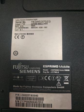 Продам ноутбук Fujitsu Siemens