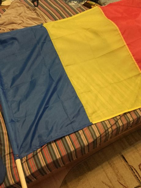Tricolor România dimensiune mare