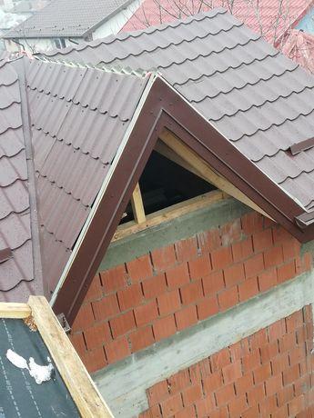 Reparatii acoperisuri mansardari terase foisare tigla metalica/ceramic