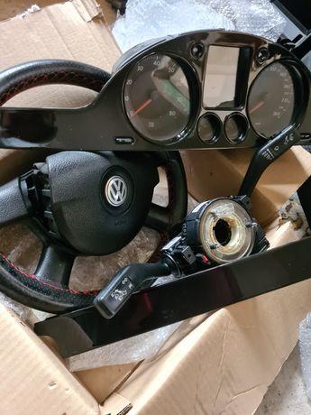 Interior textil + ceasuri minidot trimuri VW Passat b6 benzină