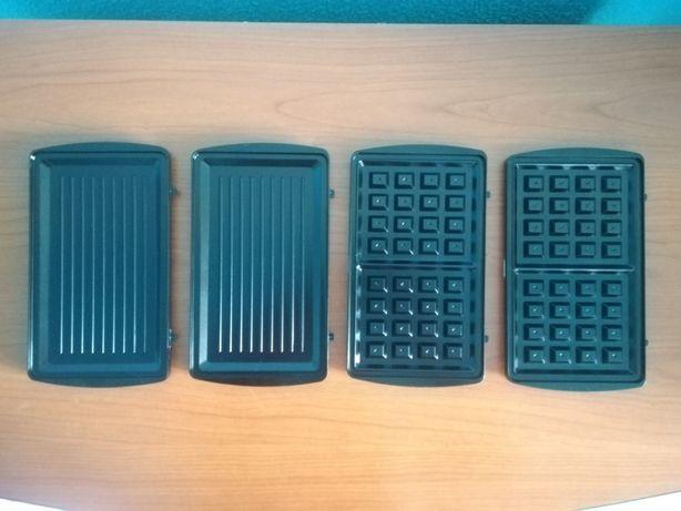 Set 4 placi de gratar pentru grill electric