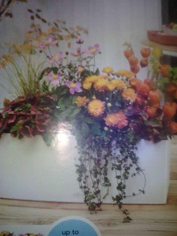 За градинари. Метални кутии за цветя