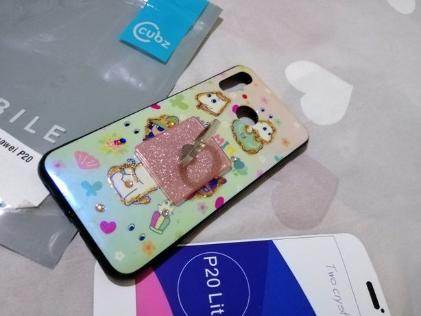 Husa Huawei P20 Lite cu inel
